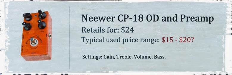 Neewer CP-18 Overdrive and Pre AMP