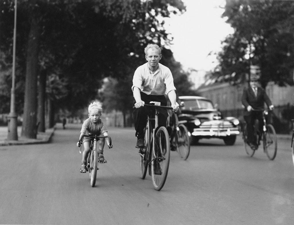 La educación ciclista se aprende en casa