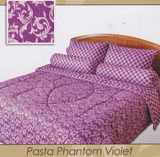 Sprei Shyra Pasta Phantom Violet