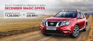 Nissan Terrano | An Exclusive offer to make your year end even better | Discount December sale