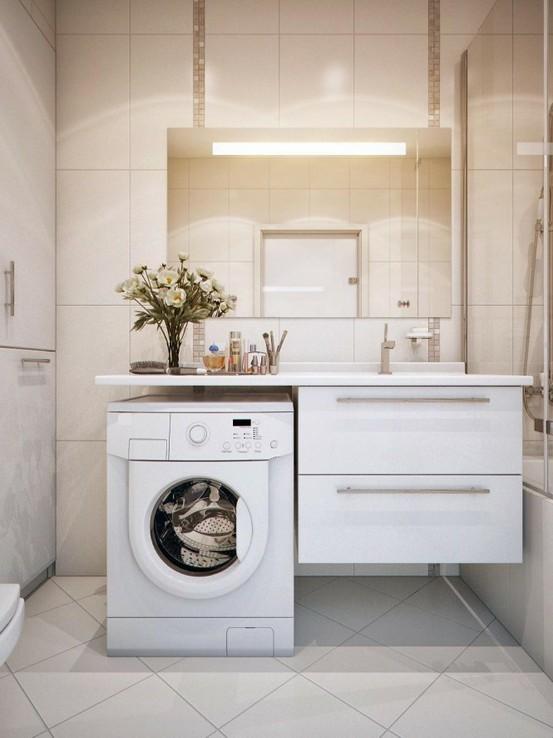 decoracao no banheiro : decoracao no banheiro: – Arquitrecos: Faltou espaço? Área de Serviço no banheiro
