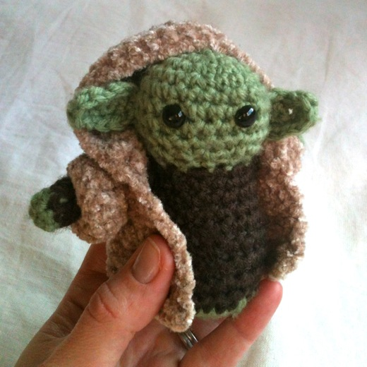 Crochet Yoda : His pattern was only US$3.50 here , and designer Lucy Ravenscar has ...
