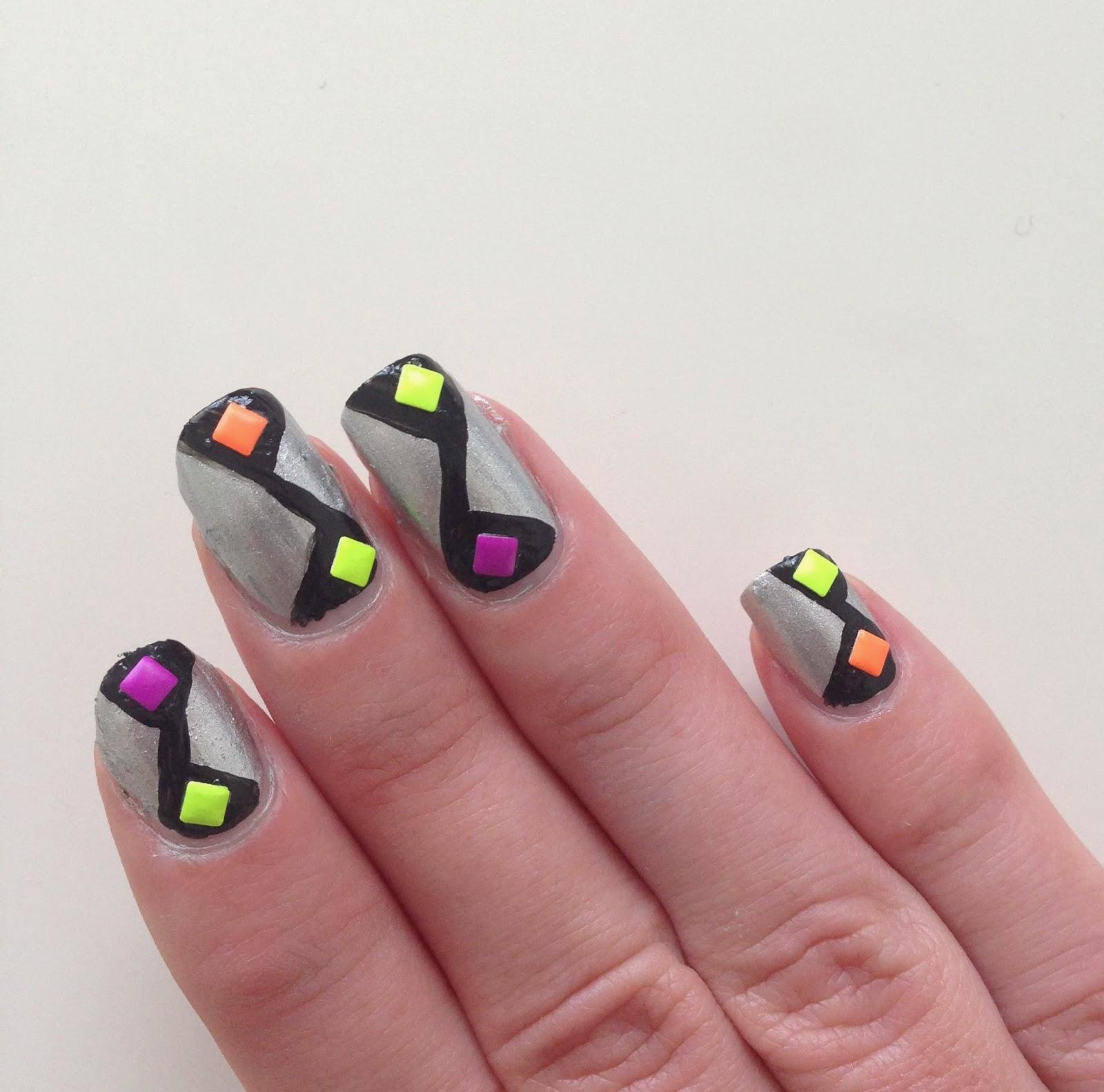 nail art peinture facile