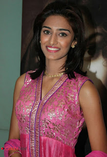 Erica Fernandes Pictures in Pink Salwar Kameez at 555 Audio Launch  0009.jpg