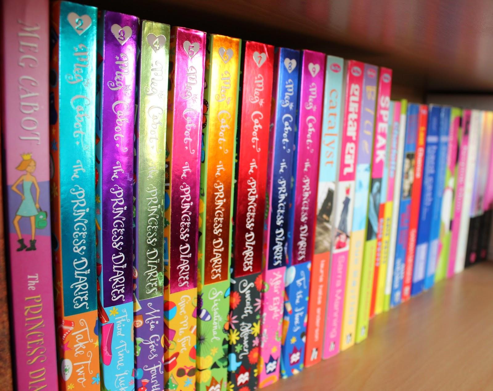 Princess Diaries Bookshelf