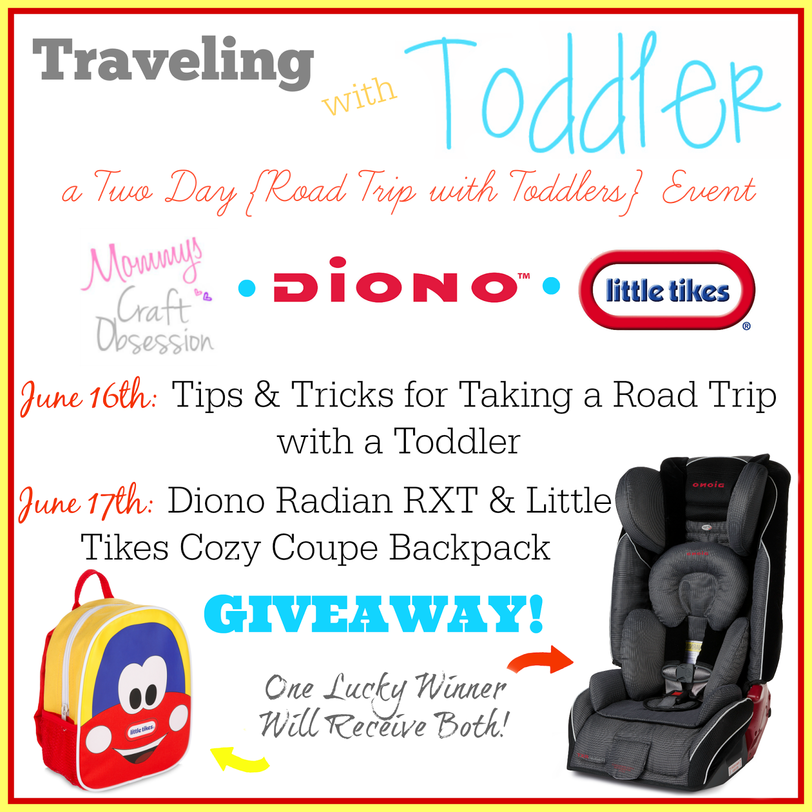 Traveling With Toddler Two Day Road Trip Event
