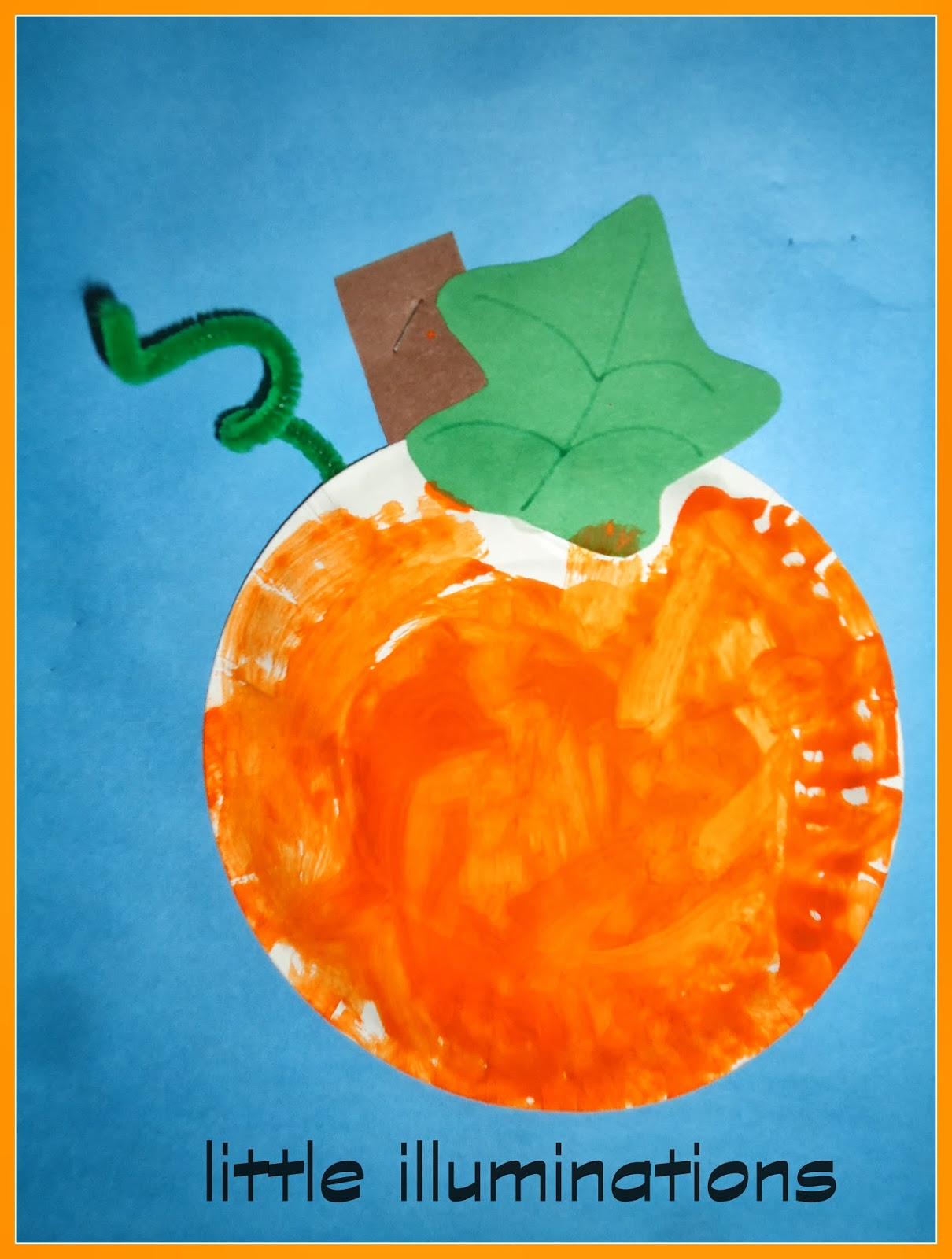 I LOVE LOVE LOVE this fine motor activity!!!! The 3\u0027s class drew circles with markers then filled in the pumpkins with craft tissue!!!  sc 1 st  Little Illuminations - Blogger & little illuminations: Artsy Pumpkins