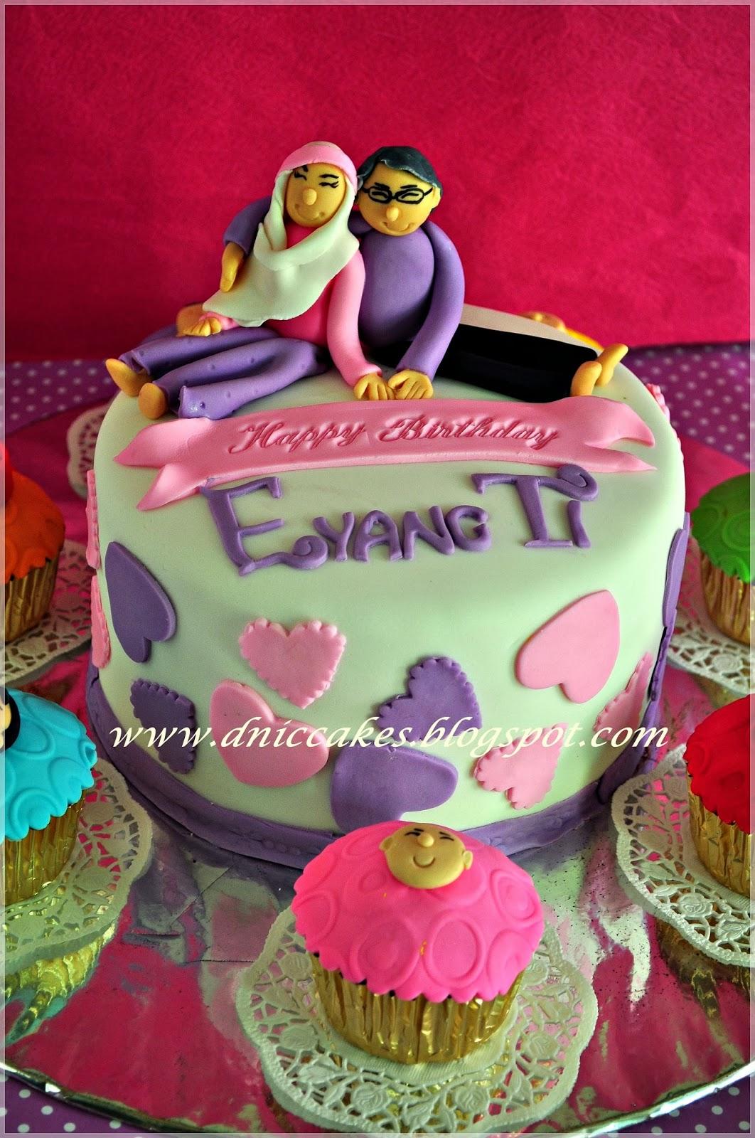 D Nic Cakes Birthday Cake Untuk Eyang Uti