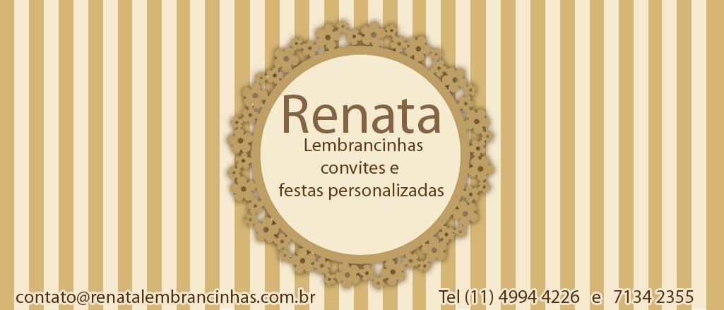 Renata lembrancinhas
