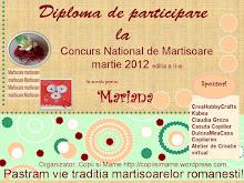 Concurs de mărţişoare 2012