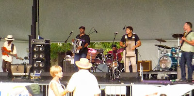 Sunpie Barnes and the Louisiana Sunspots Gretna Fest 2013