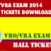 VRO / VRA Hall Tickets Download