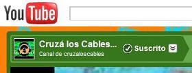 Canal de CRUZA LOS CABLES EN YouTube