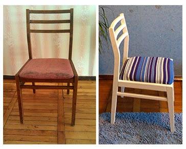 Как обновить старые стулья своими руками фото 615