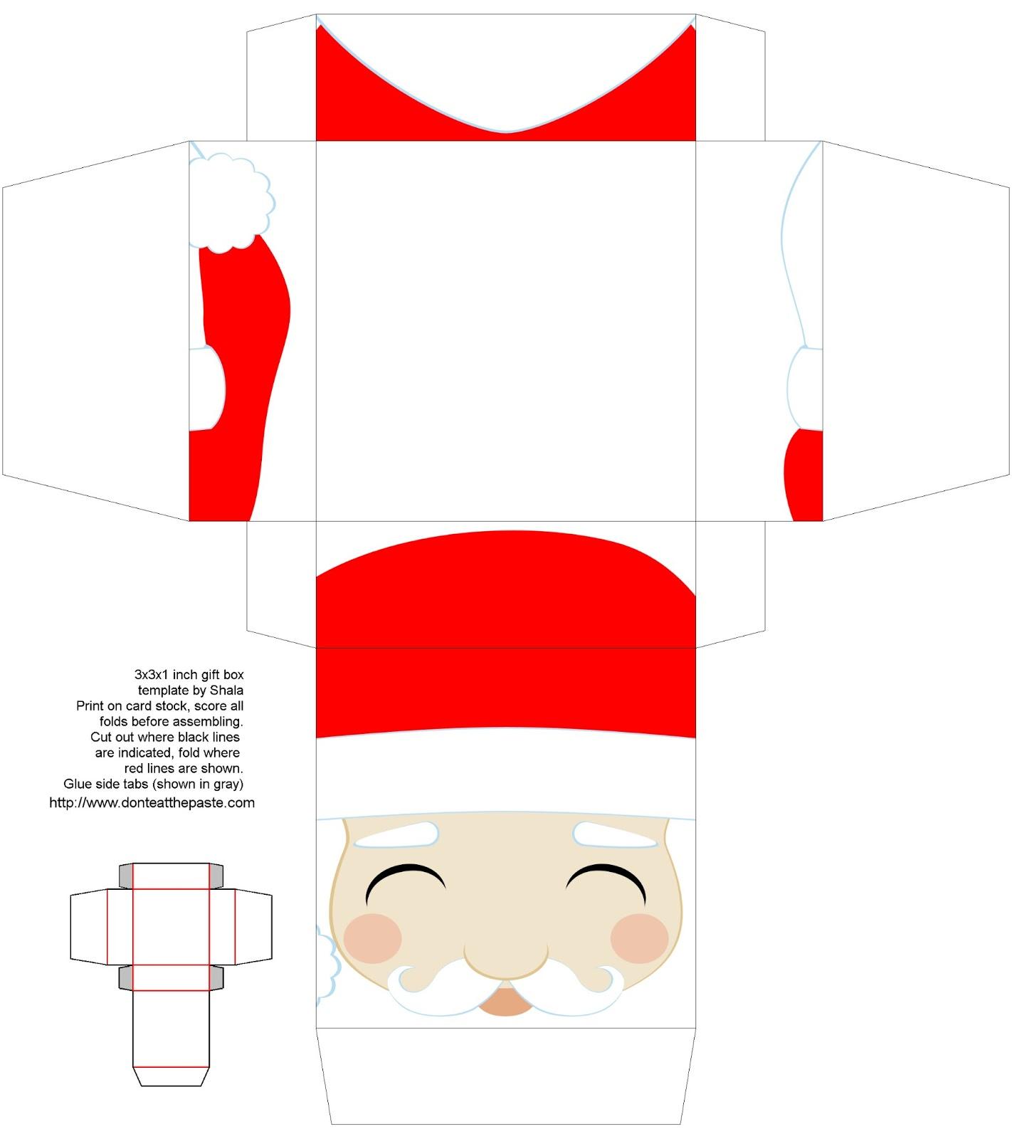santa claus patterns printable