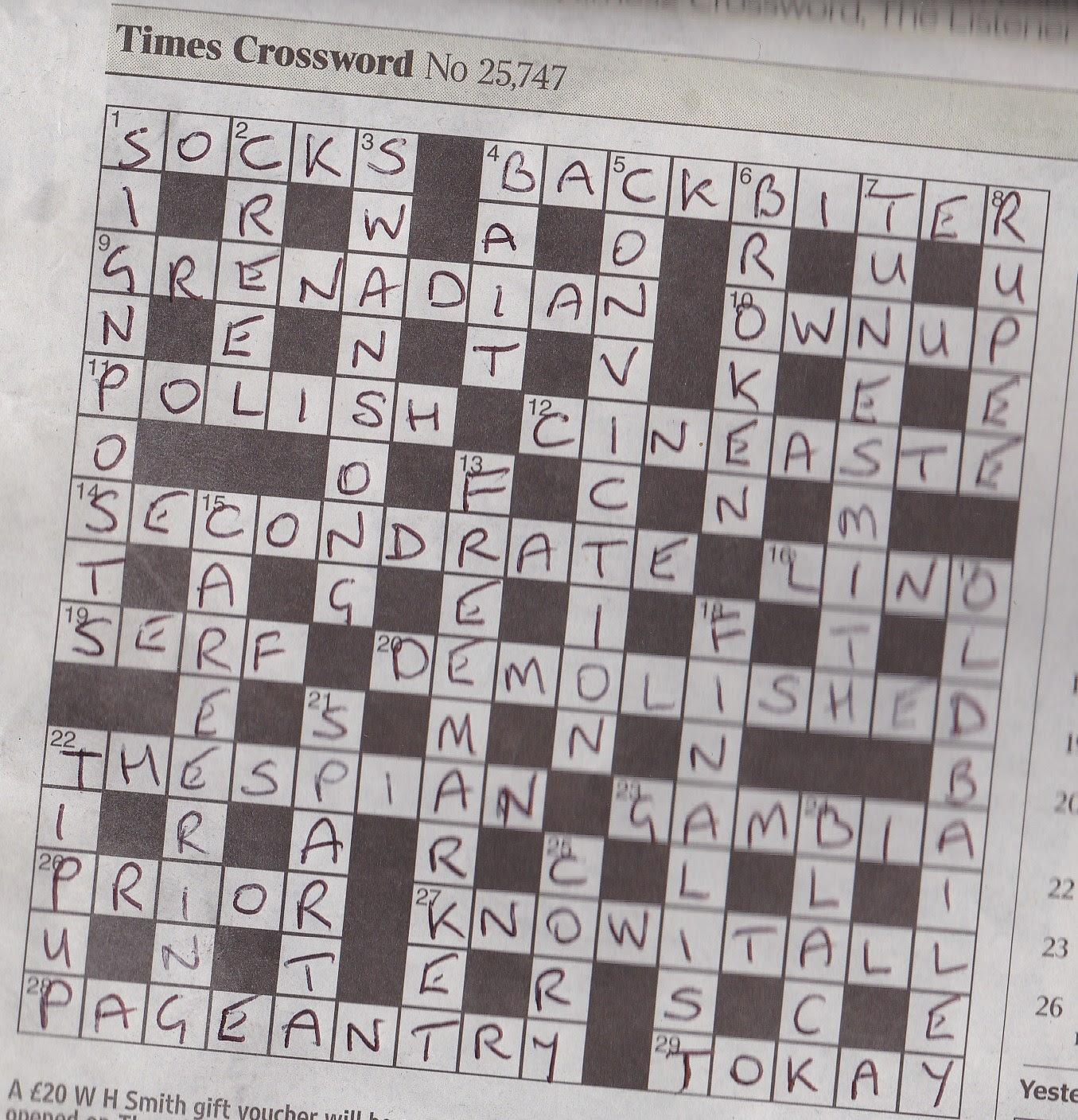 Rex Parker Popinjay Crossword Wwwmiifotoscom