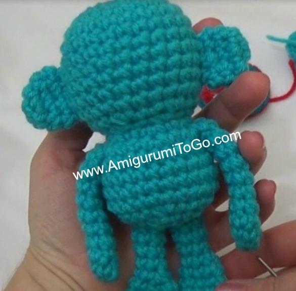 Flying Sock Monkey ~ Amigurumi To Go