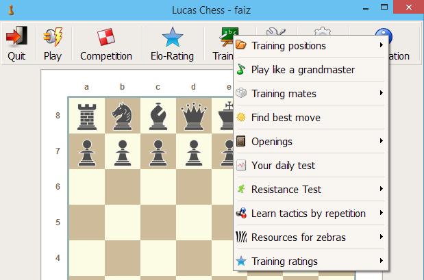 cara bermain catur mudah