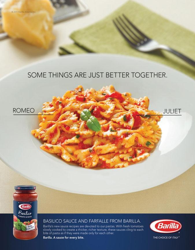 Barilla Basilico Sauce Ad