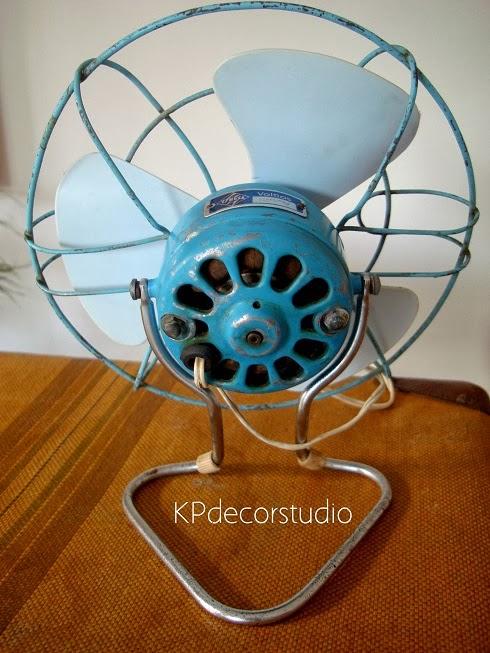 comprar ventilador vintage estilo retro años 70