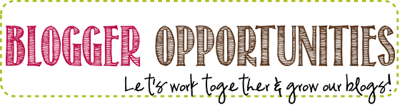 Blogger Opportunities available on Anyonita Nibbles