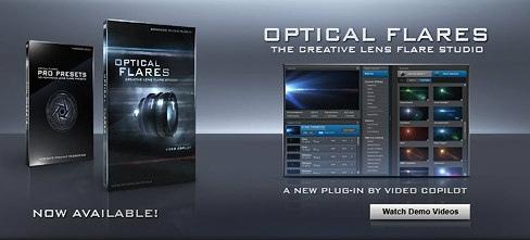 Optical Flares 1.2.124 & Optical Flares Pro Presets 2