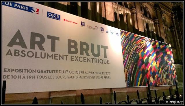 en vrac expo art brut hôtel de ville Paris