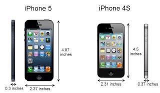 iPhone5 vs iPhone4S
