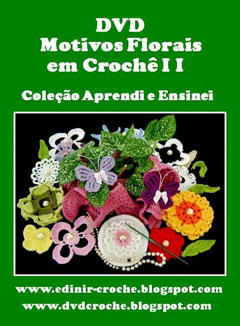 dvd video-aulas da coleção aprendi e ensinei na loja curso de croche com frete gratis para qualquer lugar do Brasil.