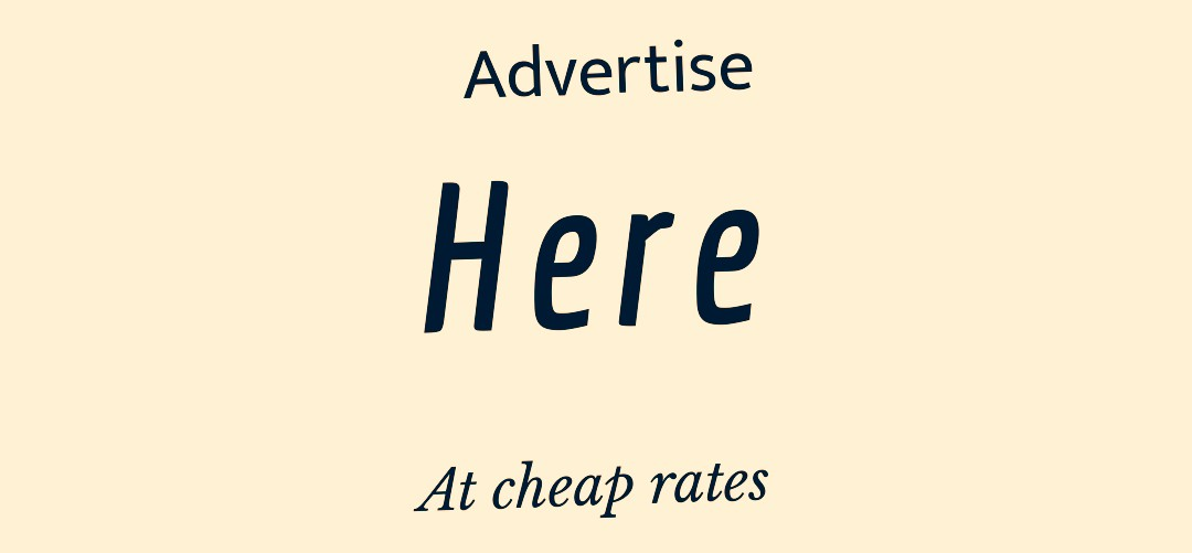 Advertise here, click
