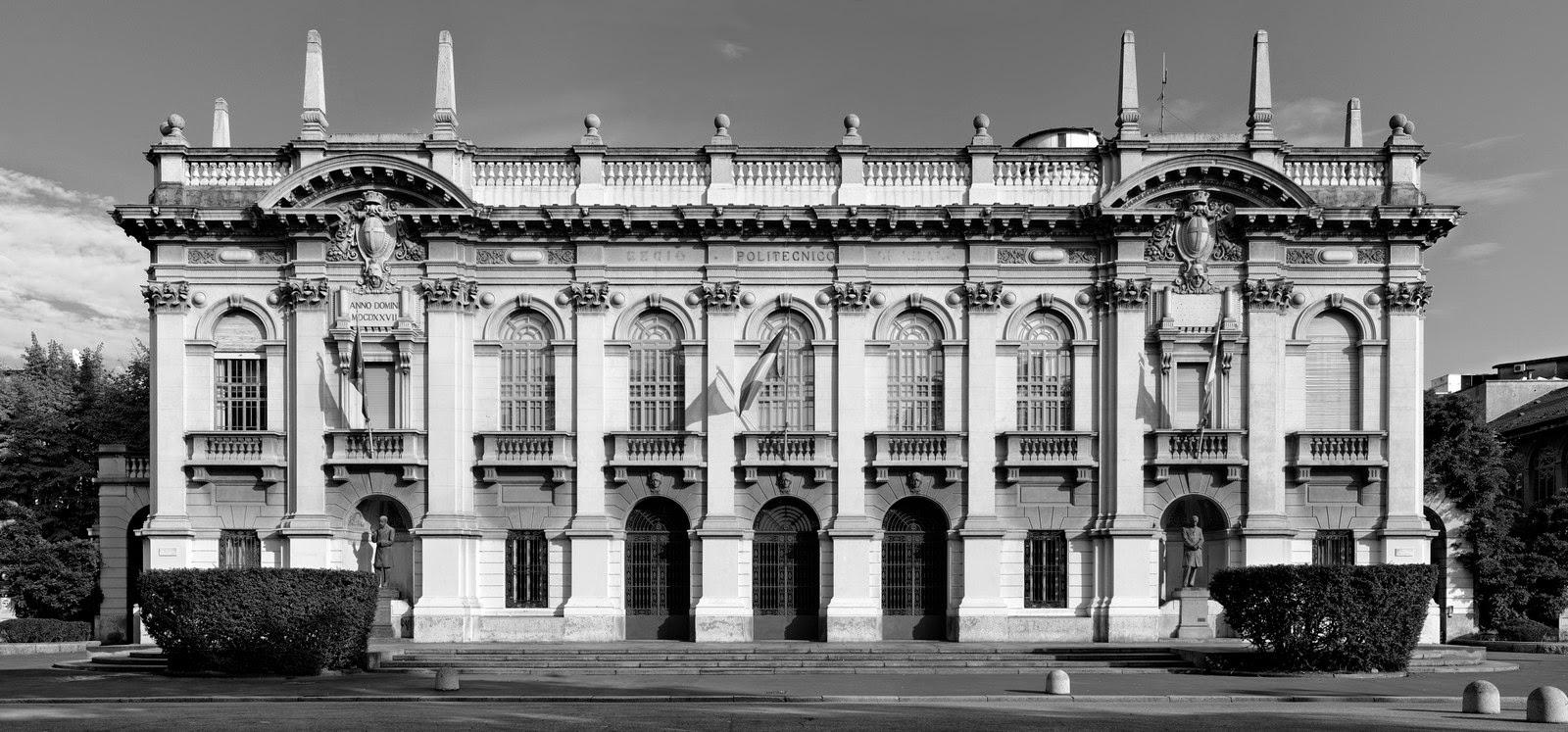 Riflessi studiare a milano il politecnico for Architettura politecnico di milano