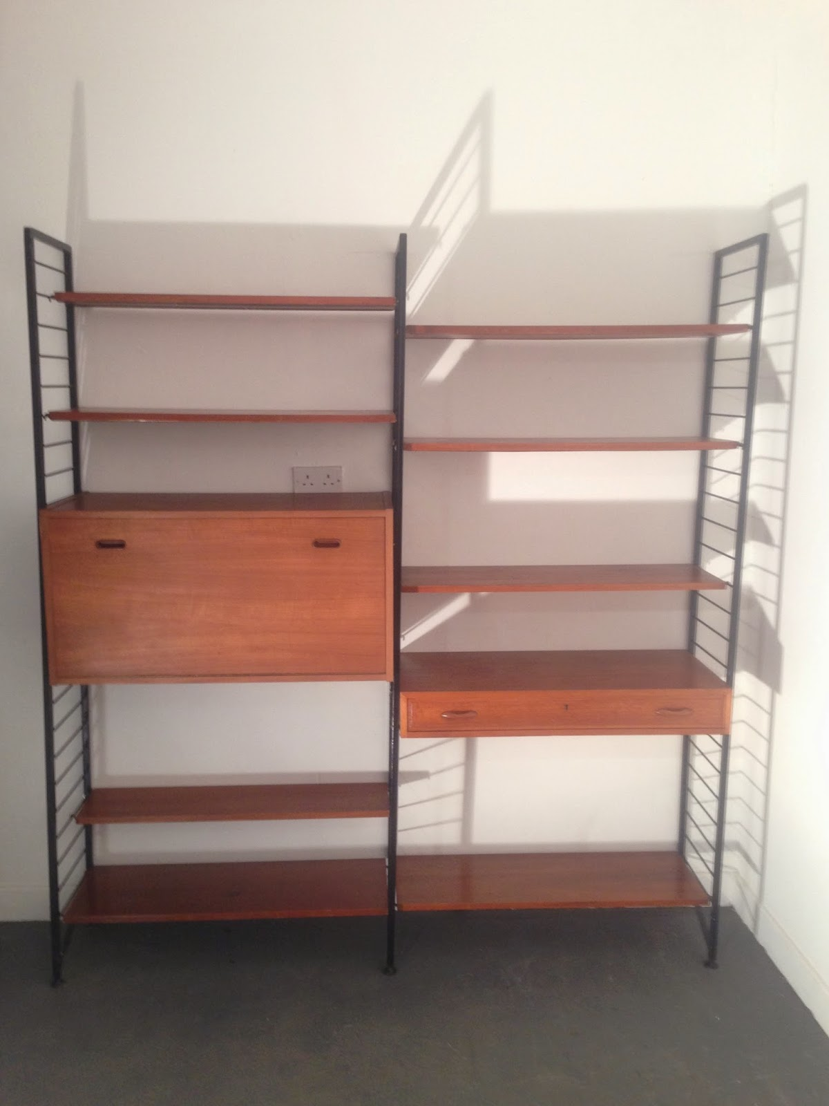 Ocd vintage furniture ireland ladderax shelving unit for Furniture ireland