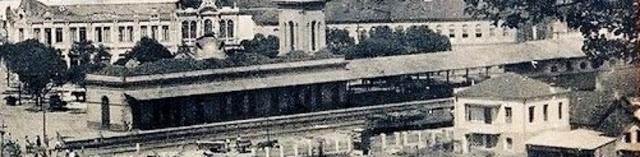 Estação ferroviária - data não definida