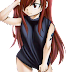 Tags: Render, Barefoot, Erza Scarlet, Fairy Tail, Mashima Hiro, Red hair