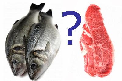 ¿Mejor carne o pescado?