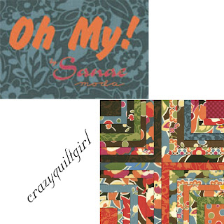 Moda OH MY Quilt Fabric by Sanae
