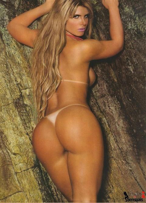 Miss Bumbum Carine Felizardo nua na Sexy