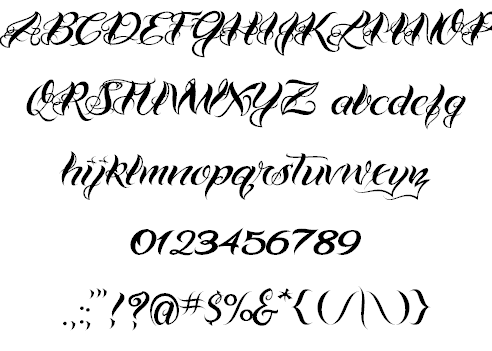 Ideas Of Fonts Tattoo Styles Pictures Free Gallery