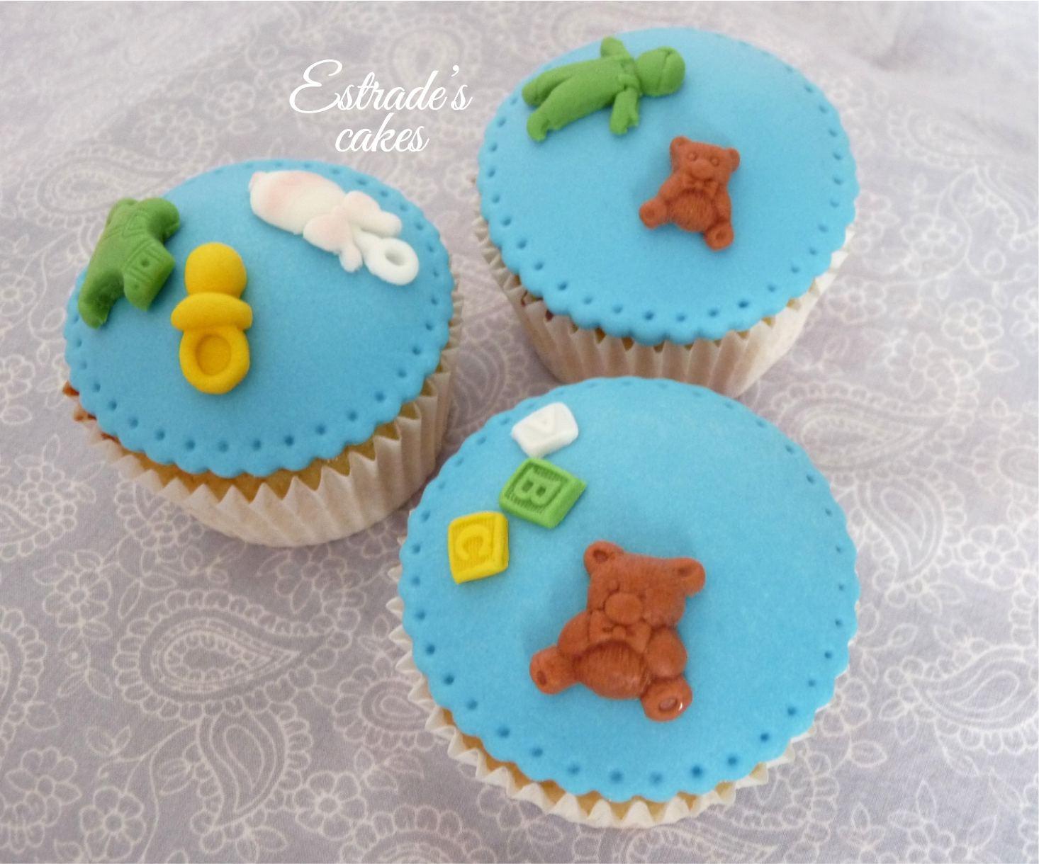 cupcakes para bebe 3