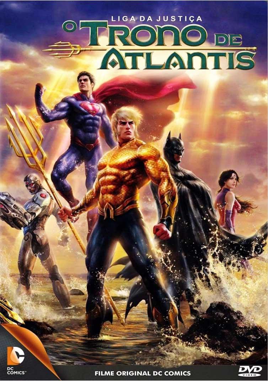 Liga da Justiça: Trono de Atlântida Torrent - Blu-ray Rip 1080p Dublado (2015)