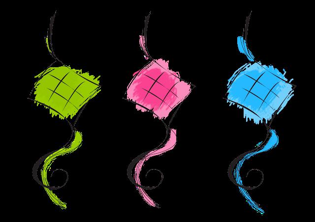 Ketupat 202 Dumpling Vector Graphic Raya