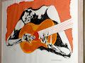 El guitarrista - Foto: © Oswaldo Guayasamín / Lisa/Instagram