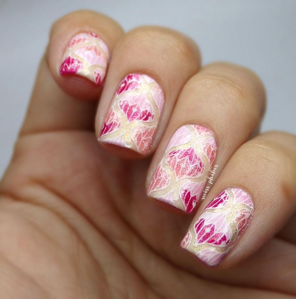 miss phibes.: Dos opciones de uñas de Navidad con plaquita de Once