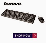Snapdeal: Buy Lenovo KM4802 USB Keyboard Mouse combo at Rs.718
