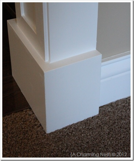 By the way jenn gray link diy door casings for Baseboard and door trim
