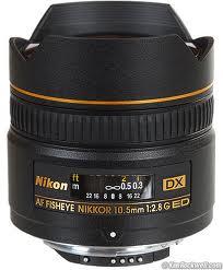 Nikon AF DX Fisheye 10.5mm f/2.8 G ED