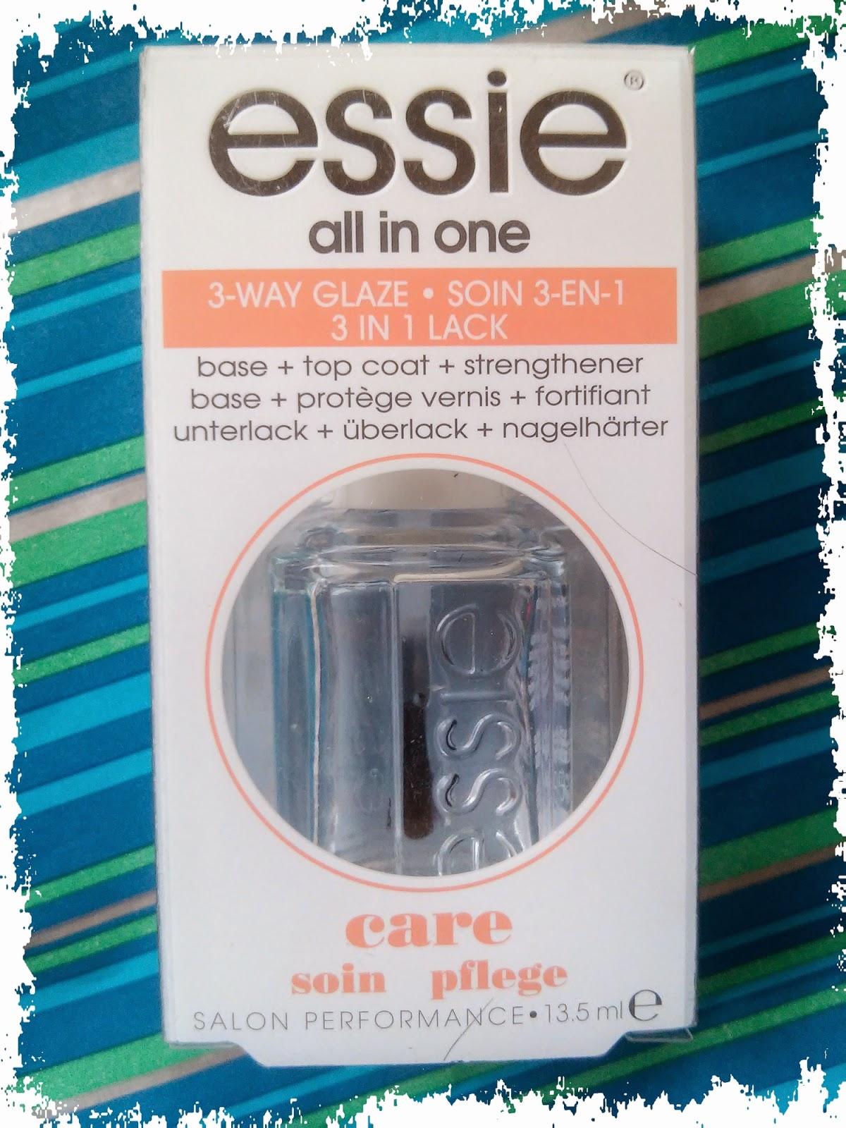 Essie, All in one, 3-way Glaze, Baza pielęgnacyjna do paznokci 3w1