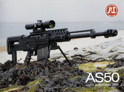 Accuracy International AS50 Snipe Rifle