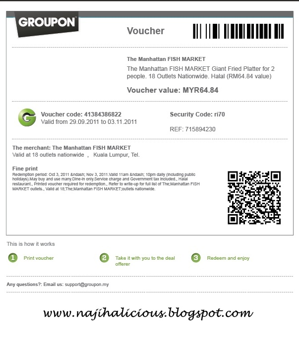 how to sell groupon voucher