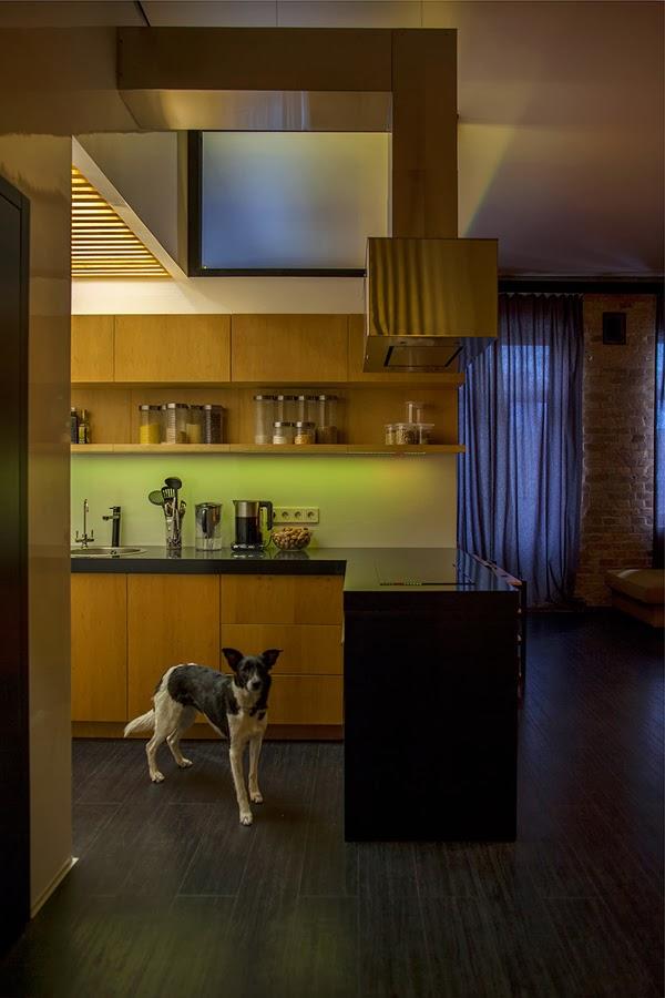 amenajari, interioare, decoratiuni, decor, design interior, apartament de doua camere, bucatarie